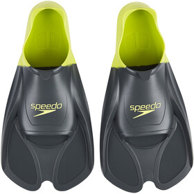 speedo Biofuse Training Fins oxid grey/lime punch